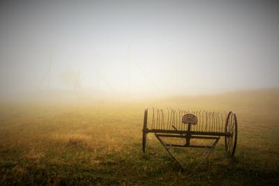 Утро в деревне ... утро туман деревня этюд