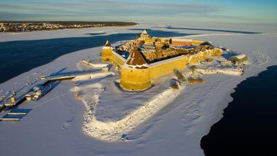 Крепость Орешек Ленинградская область крепость Орешек Ореховый остров Шлиссельбург Нотебург