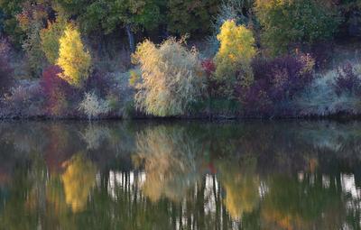 Осенние краски на закате дня...