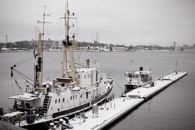 Местная классика Стокгольм залив корабль классика