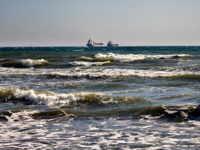 Чёрное море моё.