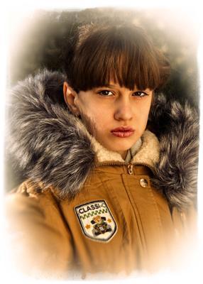 Осенний портрет портрет осень девушка девочка ребенок подросток Саратов 2015