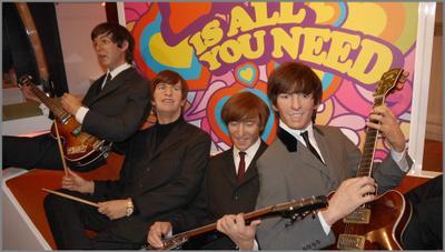 The Beatles-легенды из воска