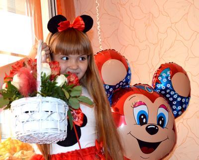 Ди и Микки девочка подарок Диана Микки день рождения