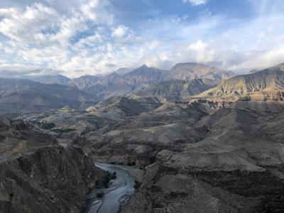 Вид горы дагестан