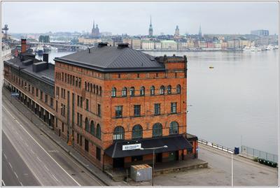 *Таможня дает добро* или *ABBA - The Museum* Стокгольм здание таможни музей группы АББА Stockholm Stora Tullhuset ABBA museum