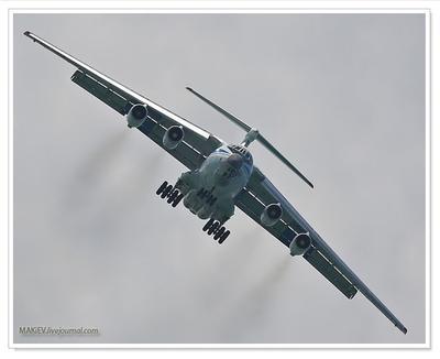 Четвёртый разворот Ил-76