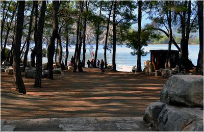 Ароматы Фаселиса... Турция Кемер Фаселис руины море сосны горы бухта туристы