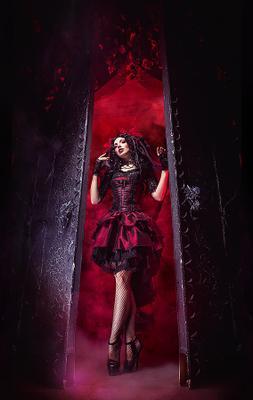 Хэллоуинские врата ворота старые фотостудия с воротами хэллоуин агнадеви студия врата хеллоуин агна деви готика лолита готик