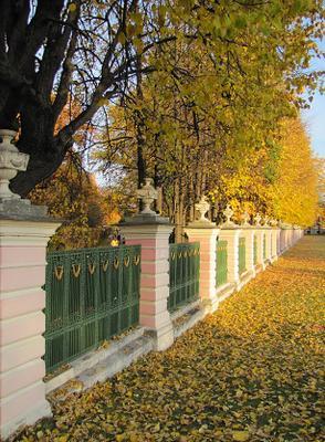 Осеннее... Кусково осень