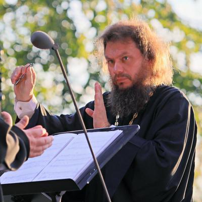 Отец Сергий Голев. Руководитель хора духовенства Московской епархии.