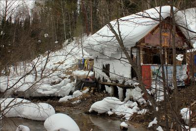 Она снежки солила в берёзовой кадушке... Дзелинда горячий источник Северный Байкал