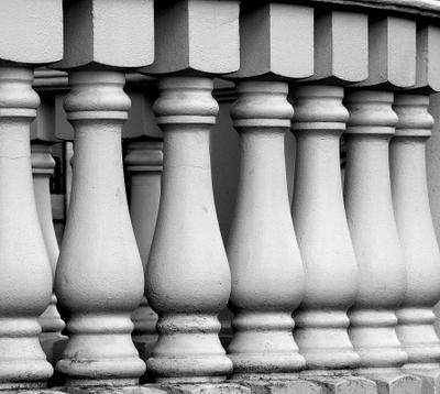 Фотоэтюд. Балясины балюстрады фотоэтюд балясины балюстрада архитектура монохром