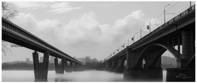 Набережная реки Обь