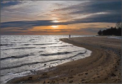В ноябре на Финском заливе