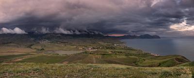 Просторы Солнечной Долины Крым Новый Свет Фотопленер