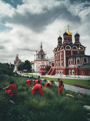 *** храм парк работники москва варварка