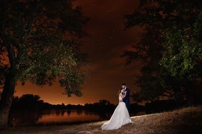 Ночь Ночь романтика девушка речка звезды ночное небо тишина шелест листьев любовь влюбленность