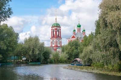 *** Переславль Залесский река Трубеж церковь Сорока Мучеников