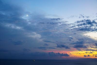 Сентябрь вечер Владивосток вечер закат Амурский залив