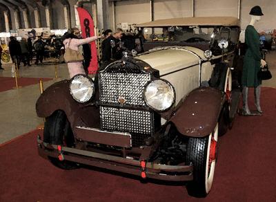 1929. Packard Олдтаймер-Галерея ретро автоэкзотика Packard