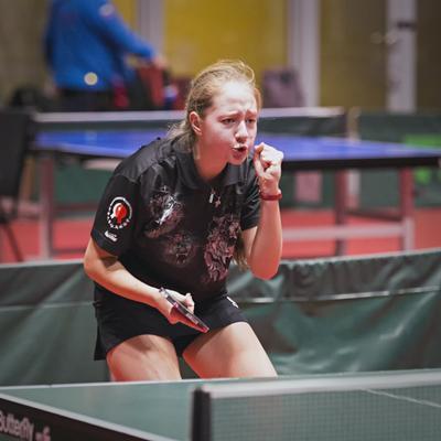 Чу!! настольный теннис пинг-понг спорт table tennis ping-pong sport girl
