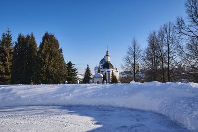 Часовня Храм часовня монастырь Прощёное воскресенье