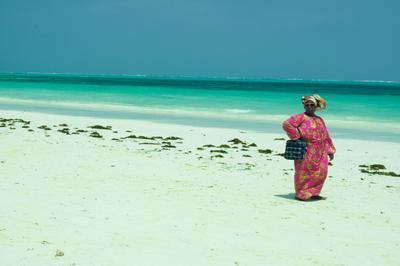 *** мамасита *** женщина океан небо Африка модель модница