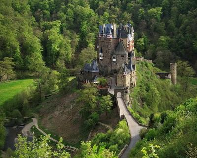 Замок Эльц (Burg Eltz) Burg Eltz