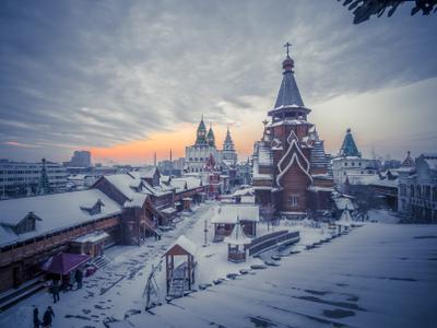 Русь храм Святителя Николая Измайловский Кремль измайлово кремль в
