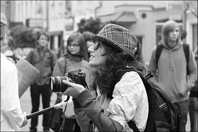 Фотограф. фотограф  женский портрет