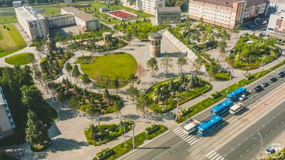 Парк Ангелов Кемерово Парк Ангелов Кемерово красивый Кузбасс