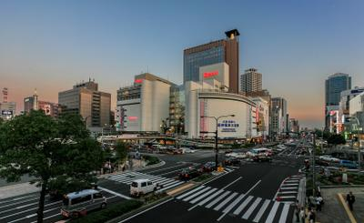 Вечером в Кобэ.