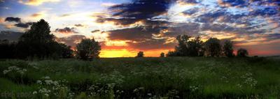 Простор... простор природа закат