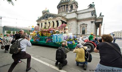 3 -ий Международный фестиваль цветов. 12июня2009. Санкт-Петербург Петербург Питер 3 международный фестиваль Цветов 12июня2009