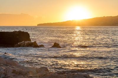 *** Италия Неаполь море закат