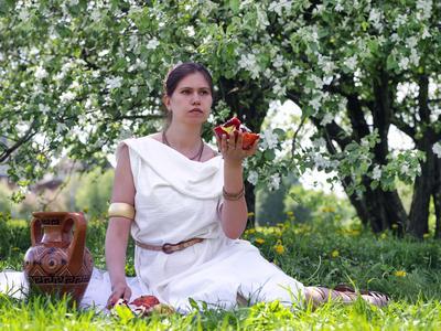 Персефона девушка греция богиня