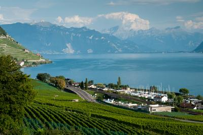 Scene of humbling beauty Switzerland Leman