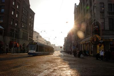 Раннее утро в Амстердаме