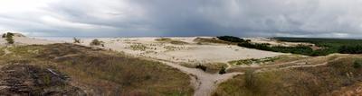 С высоты Эфы коса, море, балтика, залив, дюна, дождь, песок, высота