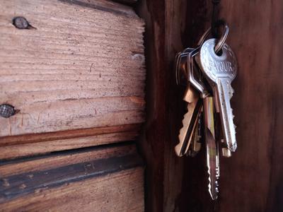 Ключи ключи дерево минимализм