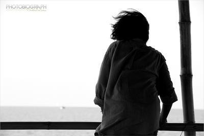 Бриз. Чувствуя ветер бриз ветер чувтсва чувствуя море портрет девушка