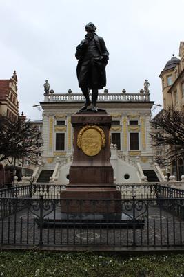 Памятник Гёте, Лейпциг