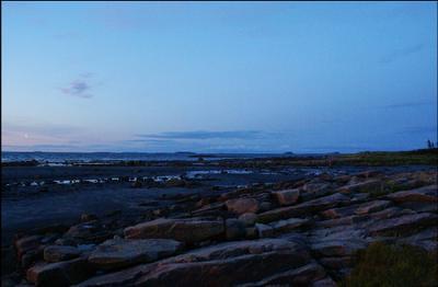 Ночь на Белом море.