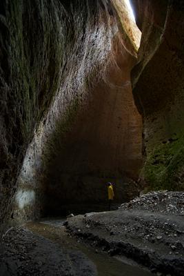 Подземный мир Дагестан Карадахская теснина Пещера