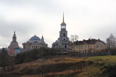 Борисоглебский монастырь (Торжок) Борисоглебский монастырь Торжок