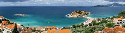 Sveti Stefan панорама, черногория, свети стефан, море, montenegro, sveti stefan