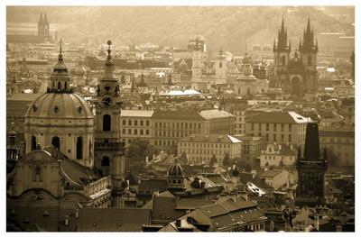 Открытка из Праги Прага