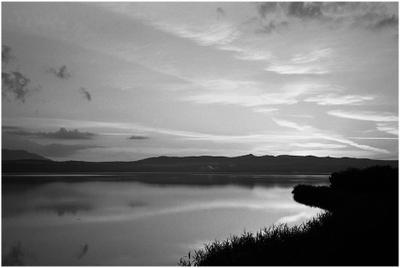 Вечерняя тишина на Щучьем озере