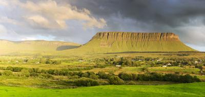 Бен-Балбен Ирландия Небо горы Бен-бальбен панорама
